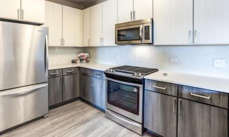 Spacious Kitchen | Lombard Apartments | Apex 41