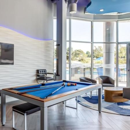 Resident Pool Table | Apartments in Lombard | Apex 41