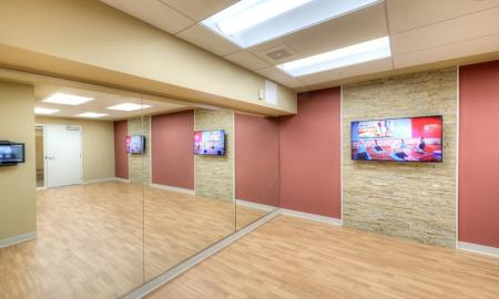 Spacious Yoga Room | Lombard Apartments | Apex 41