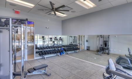 Community Fitness Center | Apartments in Lombard | Apex 41