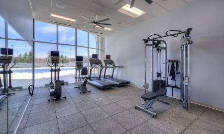 Cutting Edge Fitness Center | Lombard Illinois Apartments | Apex 41