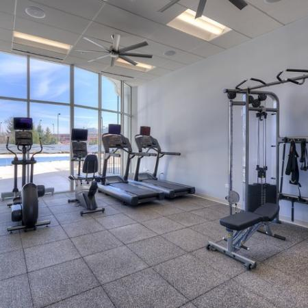 Cutting Edge Fitness Center | Lombard Illinois Apartments | Apex 41