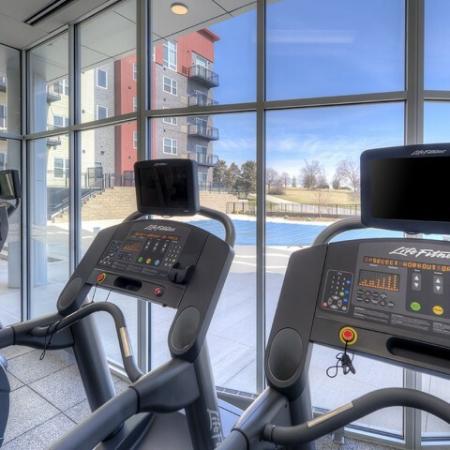 Cutting Edge Fitness Center | Lombard Illinois Apartments | Apex 41 Resident Fitness Center | Apartment Homes In Lombard | Apex 41