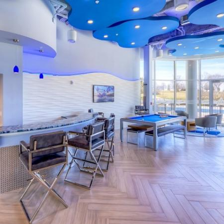 Resident Game Room | Apartments in Lombard | Apex 41