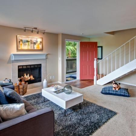 Luxurious Living Room | Renton Luxury Apartments | Montclair Heights 2