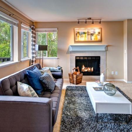 Luxurious Living Room | Renton Luxury Apartments | Montclair Heights 3