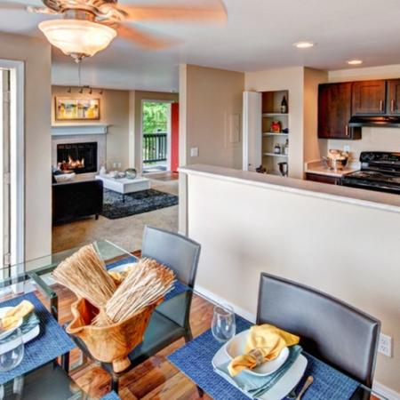 Luxurious Kitchen | Renton Luxury Apartments | Montclair HeightsLuxurious Dining Room | Renton Luxury Apartments | Montclair Heights 5