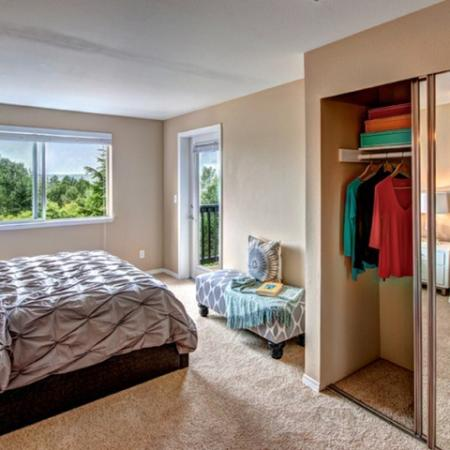 Elegant Master Bedroom | Renton Apartments | Montclair Heights