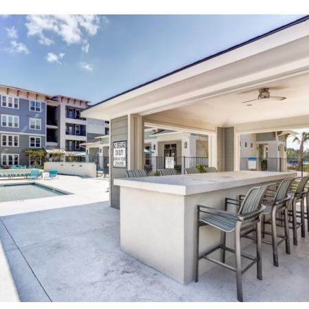 Community Sun Deck | Apartments in Irmo, SC | Atlantic at Parkridge Apartments