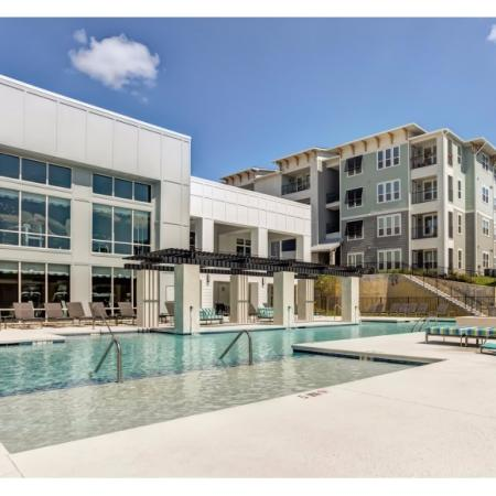 Sparkling Pool | Apartments for rent in Irmo, SC | Atlantic at Parkridge Apartments