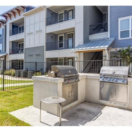 Community BBQ Grills | Irmo SC Apartment For Rent | Atlantic at Parkridge Apartments