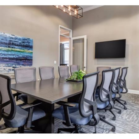 Resident Meeting Room | Apartment Homes in Irmo, SC | Atlantic at Parkridge Apartments