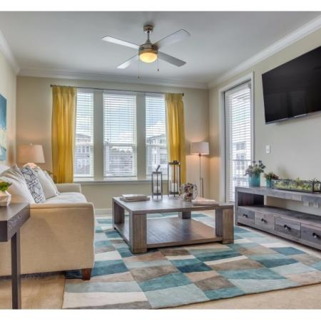 Spacious Living Room | Apartments in Irmo, SC | Atlantic at Parkridge Apartments