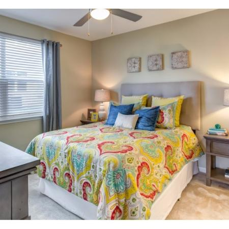 Elegant Bedroom | Irmo SC Apartment For Rent | Atlantic at Parkridge Apartments