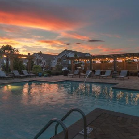 Sparkling Pool | Apartments Prattville AL | Meadows at HomePlace
