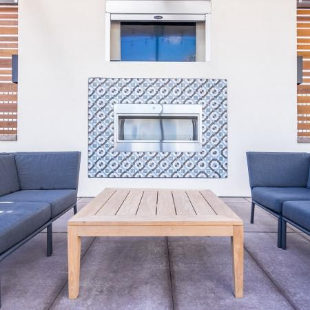 Resident Fire Pit | Apartments Homes for rent in Herriman, UT | Copperwood Apartments