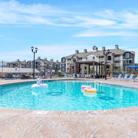 Sparkling Pool | Apartments for rent in Herriman, UT | Copperwood Apartments