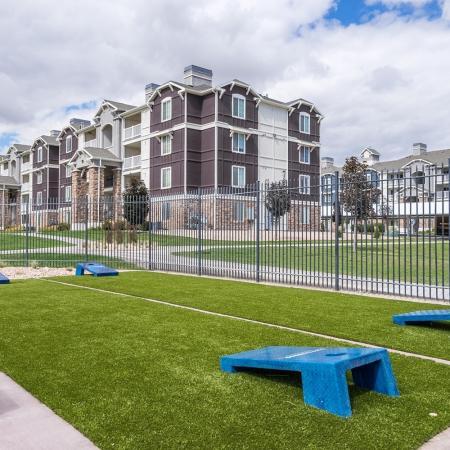 Outdoor Game Area | Apartments in Herriman, UT | Copperwood Apartments