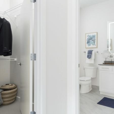 Master Bedroom ClosetBathroom