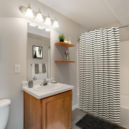 Spacious Bathroom | Herriman  UT Apartment For Rent | Copperwood Apartments