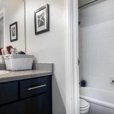 Spacious Bathroom | Lakewood Apartments Colorado | Waterfront