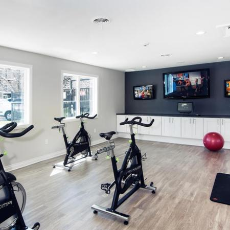 Resident Fitness Center | Lakewood Apartments Colorado | Waterfront