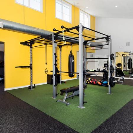 Community Fitness Center | Lakewood Luxury Apartments | Waterfront