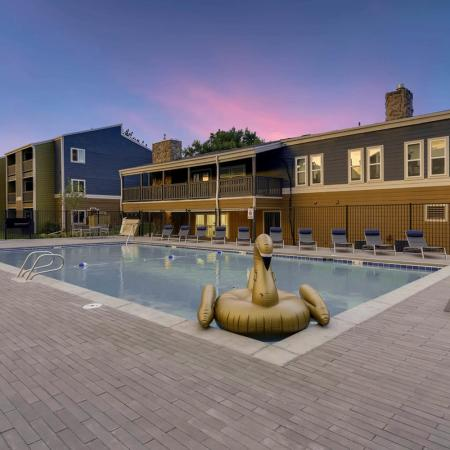 Sparkling Pool | Apartments for rent in Westminster, CO | Park Place at 92nd Apartments