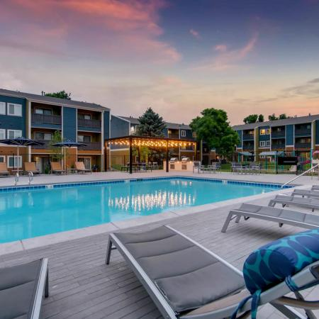 Swimming Pool | Apartment Homes in Westminster, CO | Park Place at 92nd Apartments