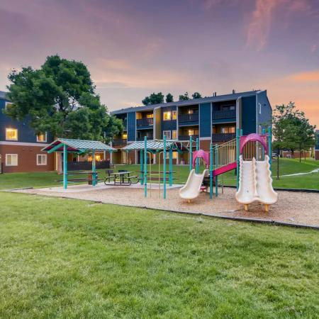 Community Children's Playground | Apartment Homes in Westminster, CO | Park Place at 92nd Apartments