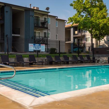 Resort Style Pool | Apartments in West Valley City, UT | Mountain View Apartments