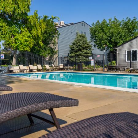 Sparkling Pool | Apartments for rent in West Valley City, UT | Mountain View Apartments