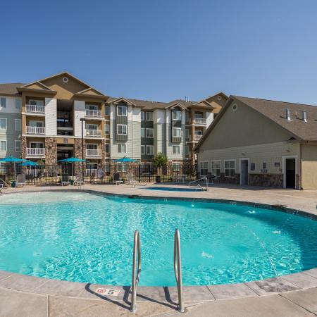 Sparkling Pool | Apartments for rent in West Valley City, UT | Sandalwood Apartments