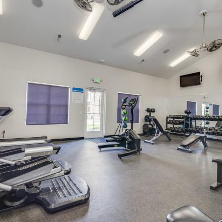 State-of-the-Art Fitness Center | Apartment Homes in West Valley City, UT | Sandalwood Apartments