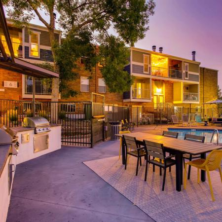 Community BBQ Grills | Lakewood CO Apartment For Rent | Waterfront Apartments