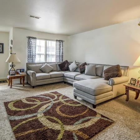Elegant Living Room   Arvada Apartments   Allison Pointe