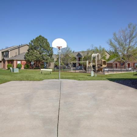 Community Basketball Court | Pet Friendly Apartments In Arvada CO | Allison Pointe