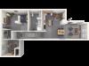 1052 sq ft
