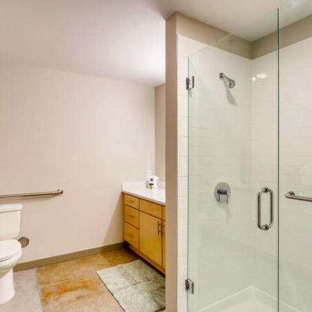 Elegant Bathroom | Apartments in Tacoma , WA | VUE25 Apartments