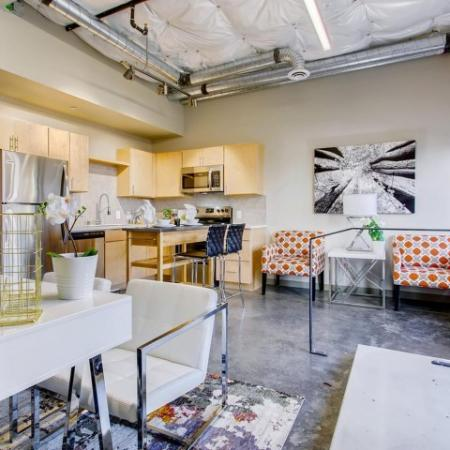 Luxurious Living Area | Apartment in Tacoma , WA | VUE25 Apartments