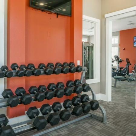 Azure Apartments - Fitness Center
