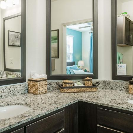Azure Apartments - Model Bathroom