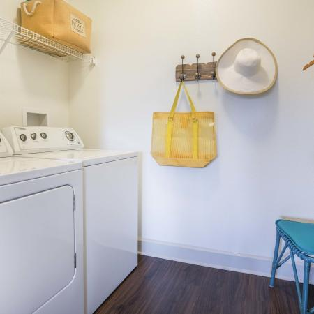 Azure Apartments - Model Laundry room