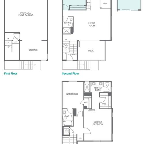 3 Bdrm Floor Plan | San Marcos Apartments | Anden
