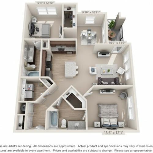 Floor Plan 4 | Atlantic at Parkridge