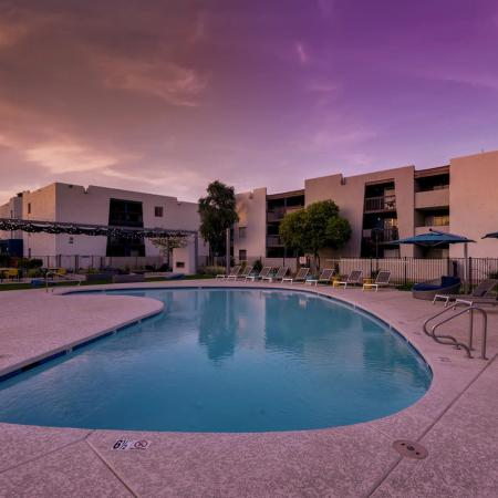 Resort Style Pool | Apartments in Scottsdale, AZ | The Glen at Old Town Apartments