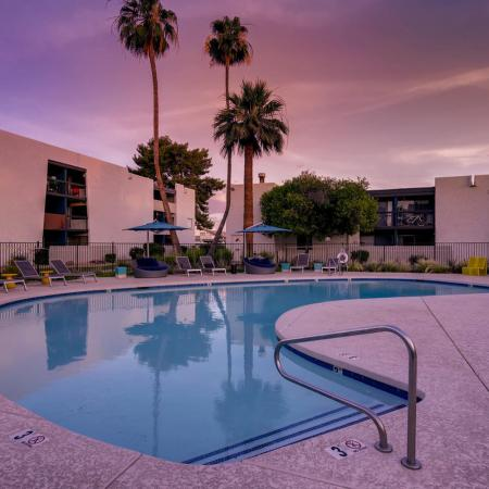 Sparkling Pool | Apartments for rent in Scottsdale, AZ | The Glen at Old Town Apartments