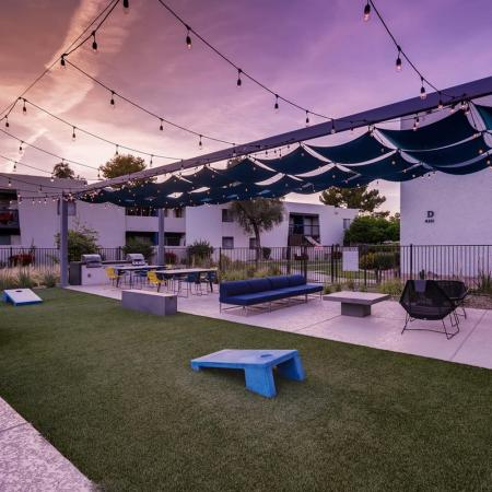 Outdoor Game Area | Apartments in Scottsdale, AZ | The Glen at Old Town Apartments