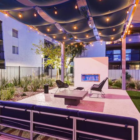 Community Sun Deck | Apartments in Scottsdale, AZ | The Glen at Old Town Apartments