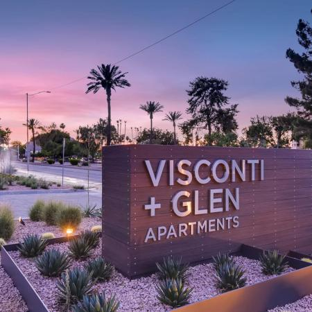 Visconti at Camelback|large sign